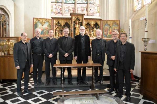 Het koor Cantabo van de C-koren - Schola Gregoriana